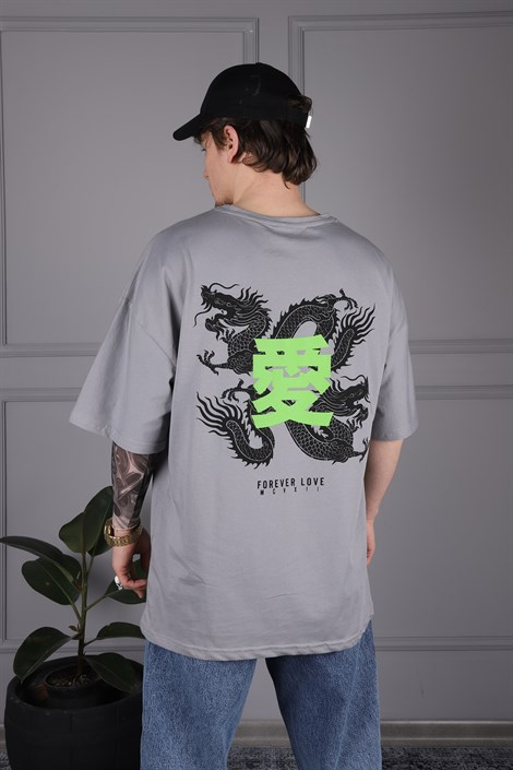 Dragon Gri Tshirt, , JR.CRIME